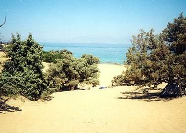 Η παραλία του Αγίου Ιωάννη στη Γαύδος