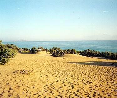 Der Strand Agios Ioannis auf Gavdos