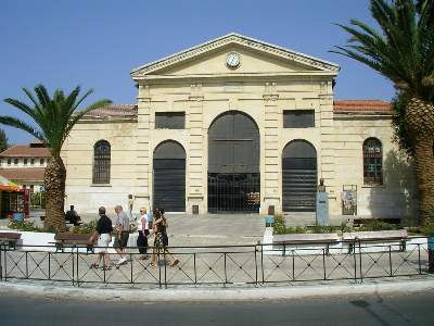 The Agora Square in Chania