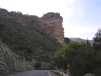 Landscape in the area of Makrigialos