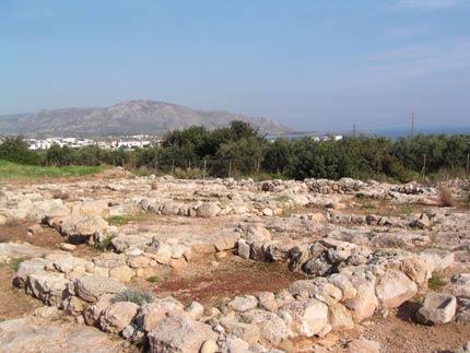 La villa Minoenne à Makrigialos