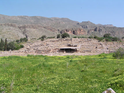 The Minoan Palace in Kato Zakros