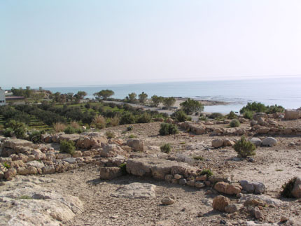 Ancient town in Xerokampos