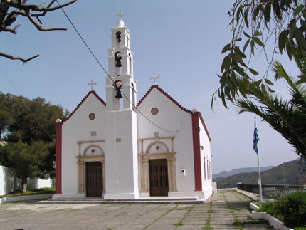 Church in Lastros Village