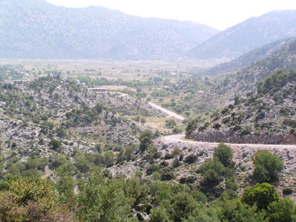 View of Omalos