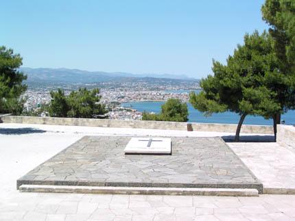 Ο τάφος του Ελευθέριου Βενιζέλου