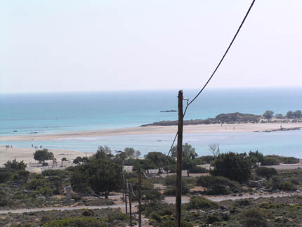Beach of Elafonissi