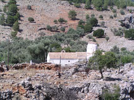 Η Βυζαντινή εκκλησία του Μιχαήλ Αρχάγγελου στην Αράδαινα