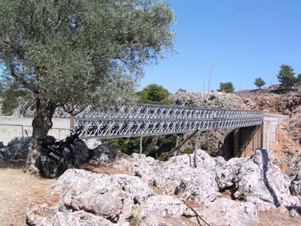 Η γέφυρα στην Αράδαινα