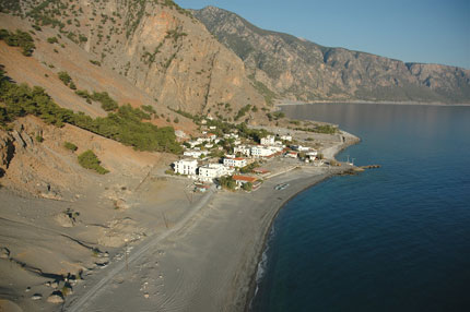 Το παραθαλάσσιο χωριό της Αγίας Ρουμέλης