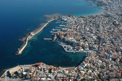 View of Chania