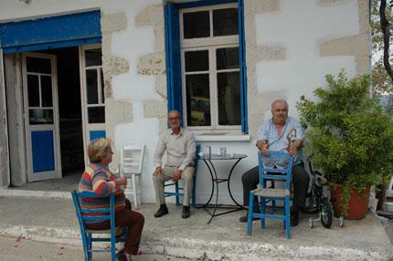 Καφενείο στους Μαχαιρούς
