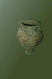 Gro(er minoischer Pithari, Museum von Sitia