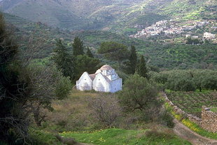 Afentis Christos-oder Metamorphosis-Kirche, Exo Mouliana