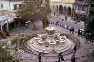 Lions Square and the Morosini Fountain, Iraklion