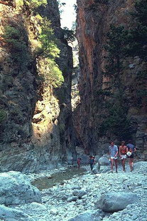 Portes of the Samaria Gorge