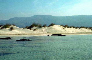 The beach of Elafonisi Island