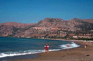 La plage de Paleohora