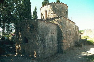 Die Agios Pavlos-Kirche in Agios Ioannis