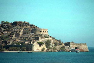 The Venetian fort of Spinalonga