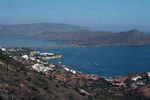 Die Bucht von Elounda