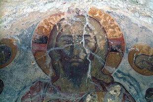Ο Παντοκράτορας στην εκκλησία του Σωτήρα Χριστού στα Τεμένια