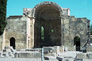 The basilica of Agios Titos, Gortyn