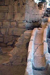 Le système de drainage du Palais d'Agia Triada