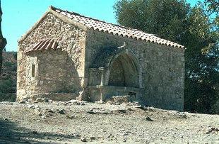The Byzantine church of Agios Georgios Galatas, Agia Triada