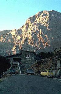 Le Mont Gigilos vu de Xiloskalo, Omalos