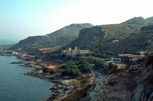 Il Monastero di Gonià sulla penisola di Spatha