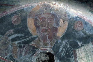 The Pantocrator from Michael Archangelos Church, Kavalariana