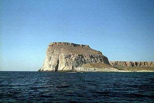 Le fort Vénitien à Imeri Gramvousa