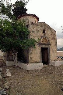 The church of the Panagia Gouverniotissa Monastery, Potamies