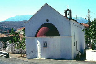 The Panagia Church in Fourni, Lassithi