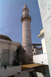 The minaret of the Valide Sultana Mosque, Rethimnon