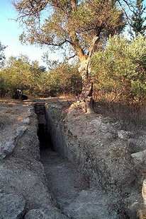 The Minoan tholos tomb in Kournas
