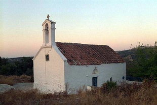 The church of Agia Anna, Filaki, Kournas