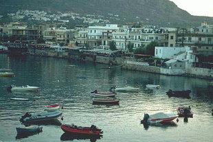 Der Hafen von Limion Hersonisou