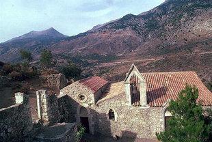 Agios Fanourios Church, Moni Varsamonero
