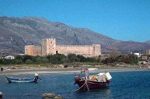 Die venezianische Festung Frangokastello