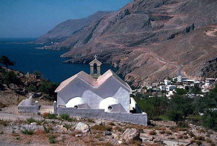 Hora Sfakion, Loutro and the road winding to Anopolis