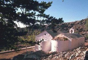 La chiesa di Agios Ioannis nel paese omonimo, Aràdena