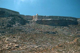 Gramvousa fort