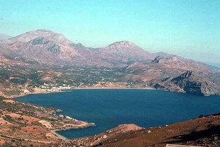 Die Bucht von Plakias