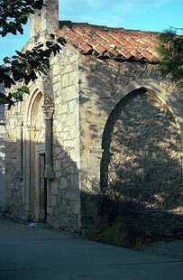 The Byzantine church of Michael Archangelos in Monastiraki