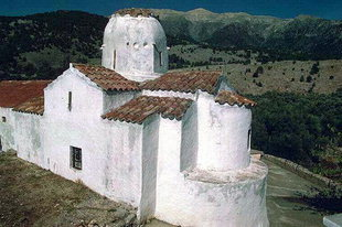 The Byzantine church of Michael Archangelos, Aradena