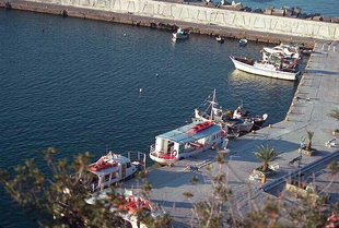 Agia Galini harbour