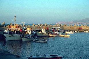 Le port d'Ierapetra
