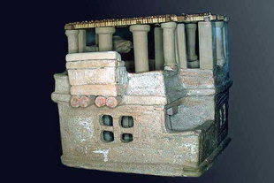 The clay model of a house found in Arhanes
